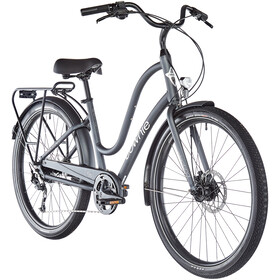"Electra Townie Path 9D EQ 27,5"" Dames, matte gunmetal"